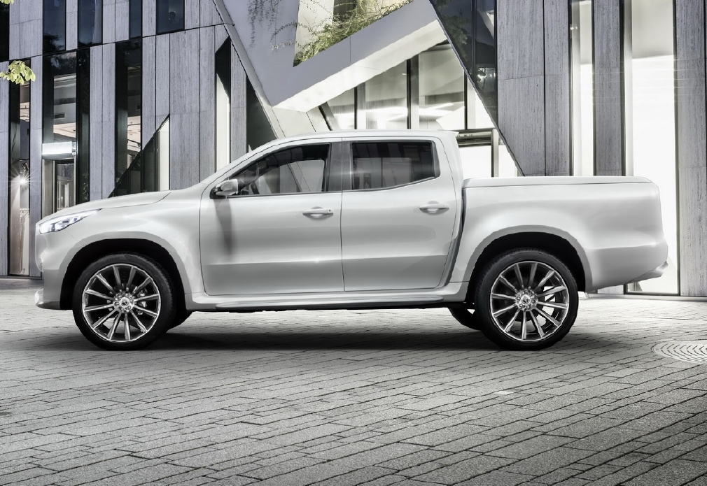 Mercedes X-Class, 2 pick-up en 1 ! - Photo n°1