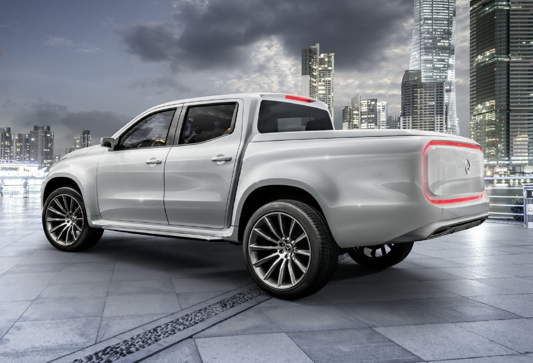 Mercedes X-Class, 2 pick-up en 1 ! - Photo n°2
