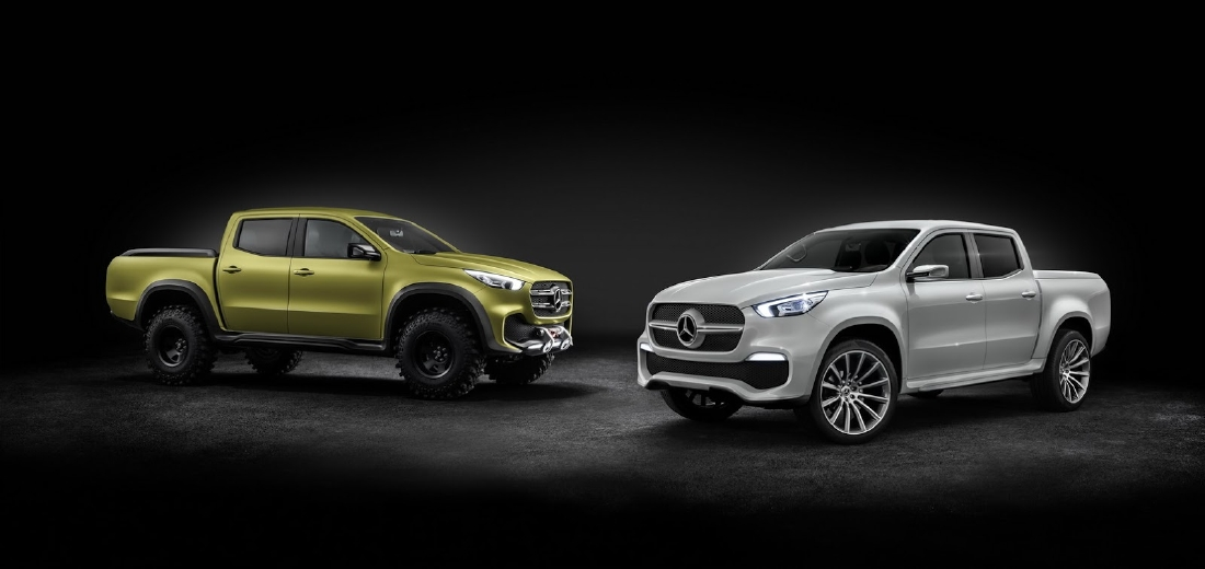 Mercedes X-Class, 2 pick-up en 1 ! - Photo n°11