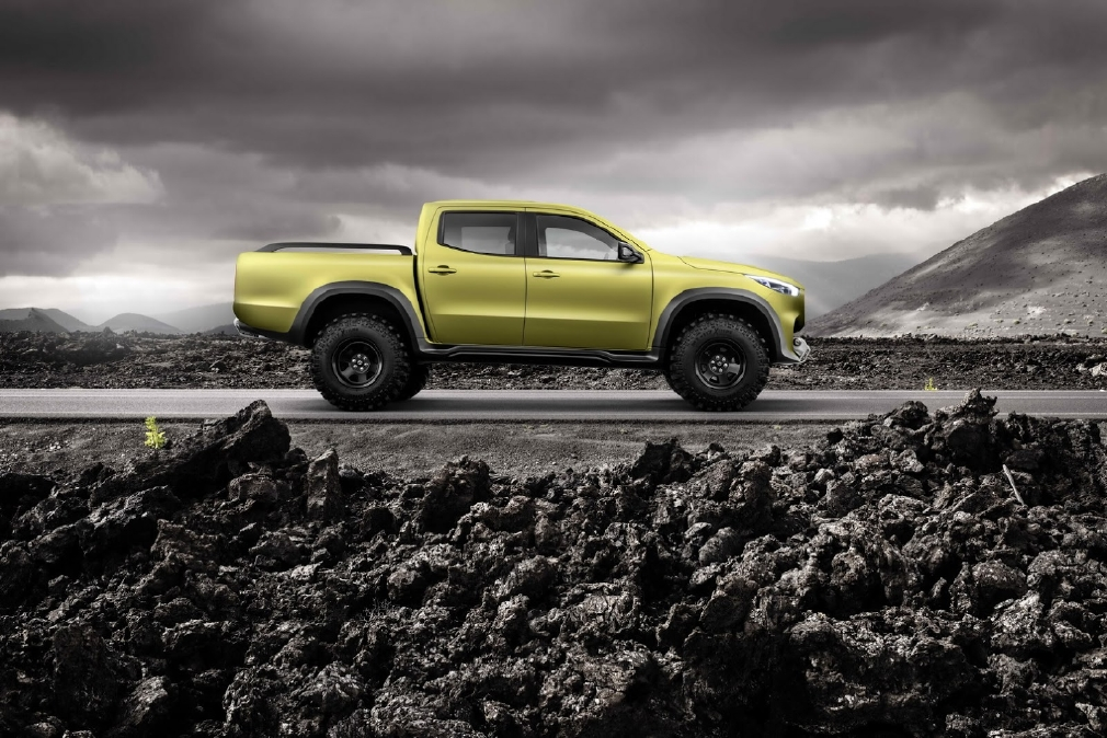 Mercedes X-Class, 2 pick-up en 1 ! - Photo n°6
