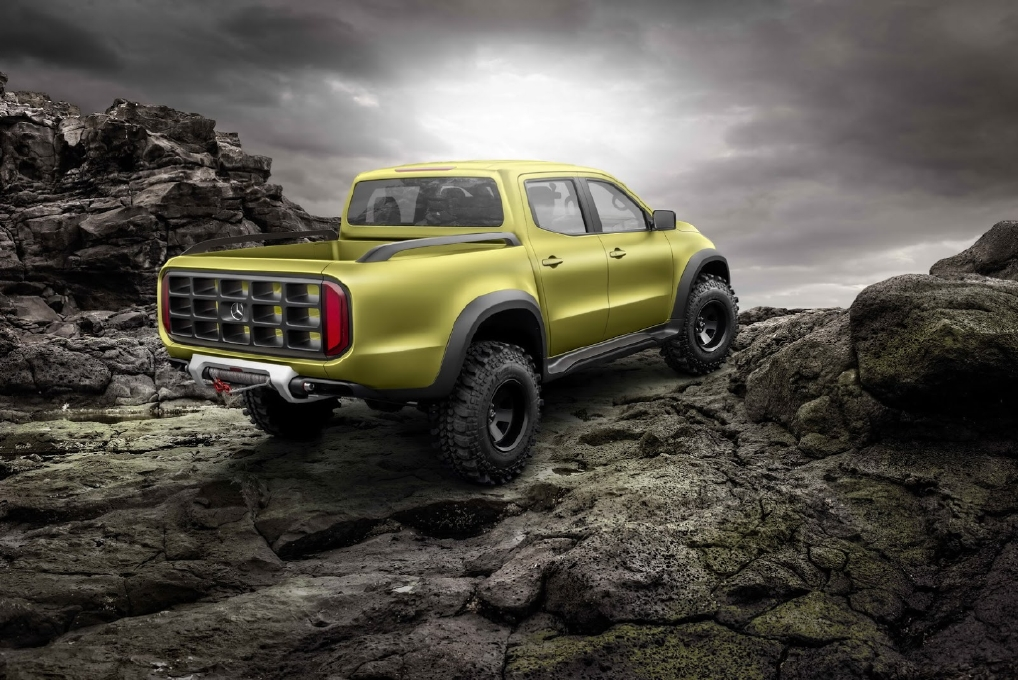 Mercedes X-Class, 2 pick-up en 1 ! - Photo n°7