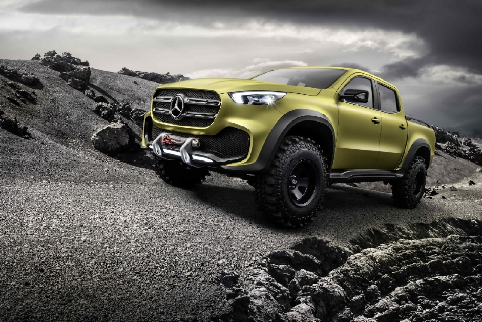 Mercedes X-Class, 2 pick-up en 1 ! - Photo n°8