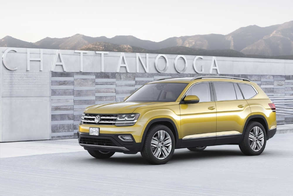 Le grand retour de Volkswagen USA avec l'Atlas - Photo n°1