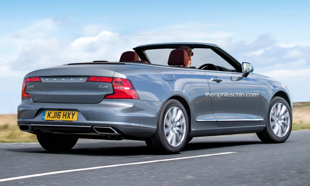 Imaginez une Volvo S90 cabriolet - Photo n°2