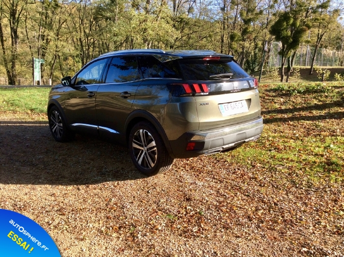 Essai Peugeot 3008 GT : Nouvelle star - Photo n°1