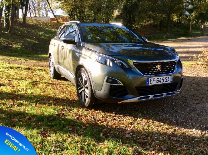 Essai Peugeot 3008 GT : Nouvelle star - Photo n°2