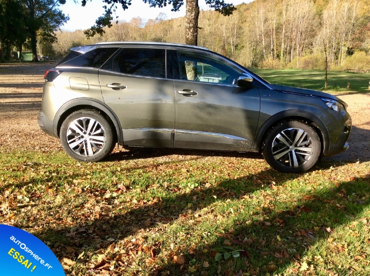 Essai Peugeot 3008 GT : Nouvelle star - Photo n°3