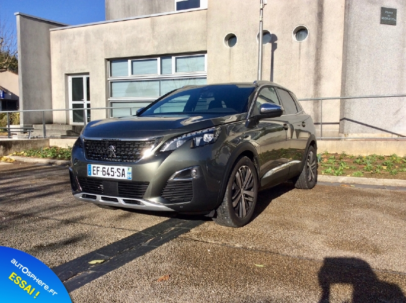 Essai Peugeot 3008 GT : Nouvelle star - Photo n°4