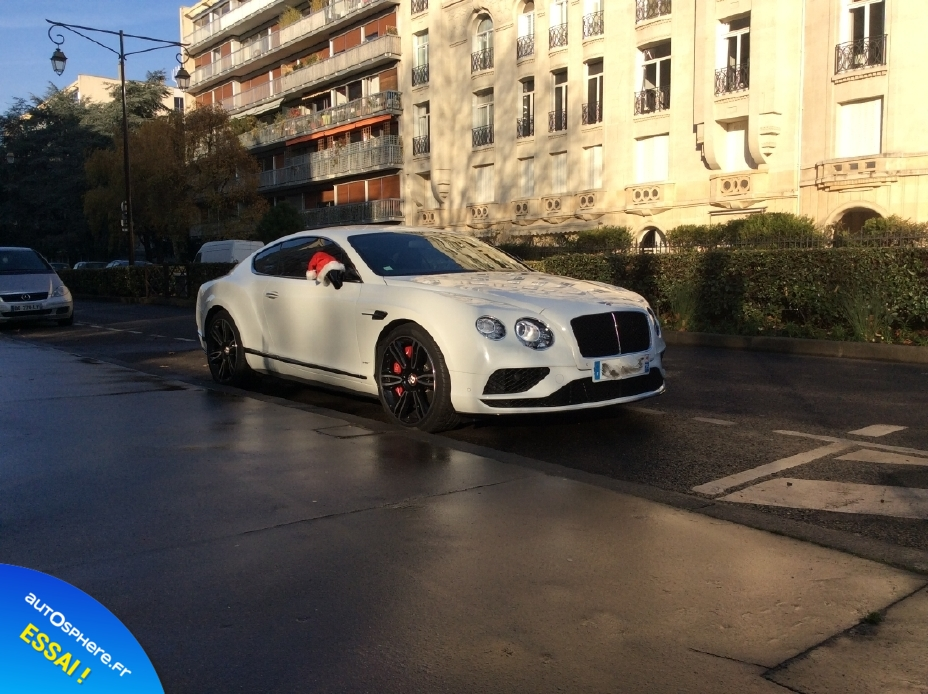 Essai Bentley Continental GT V8 S : Inoubliable ! - Photo n°1