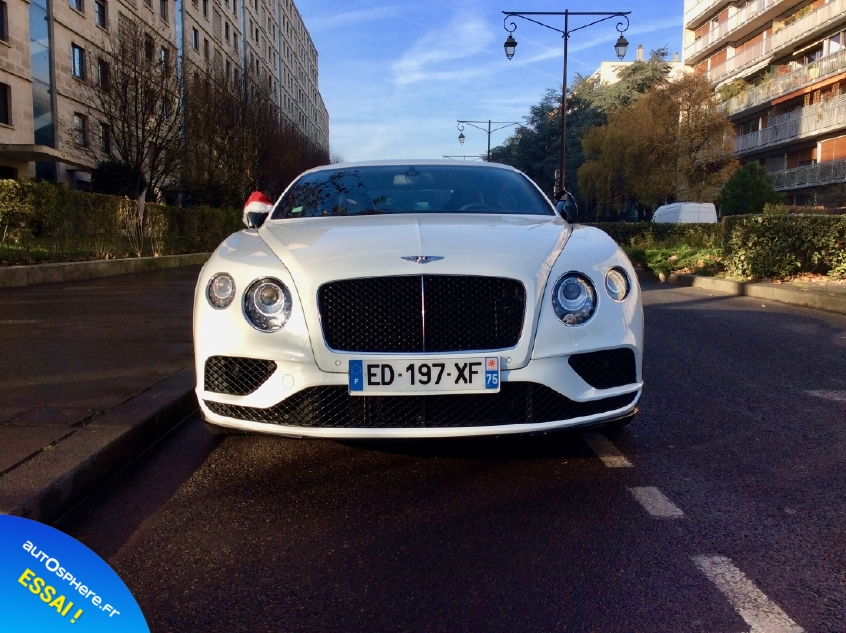 Essai Bentley Continental GT V8 S : Inoubliable ! - Photo n°2
