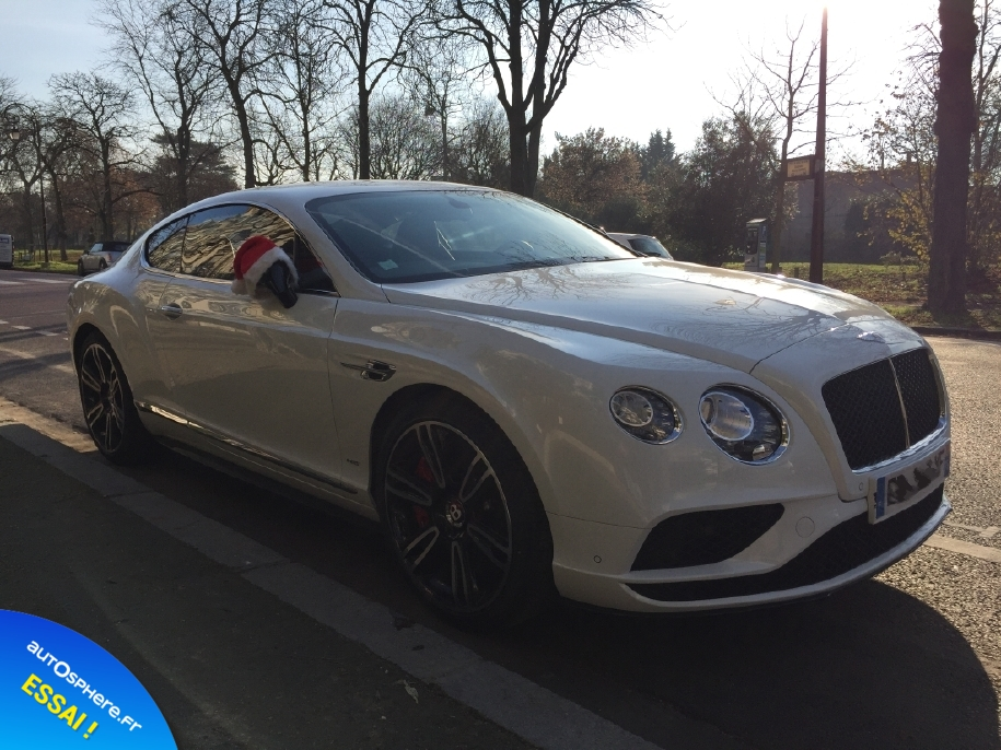 Essai Bentley Continental GT V8 S : Inoubliable ! - Photo n°11