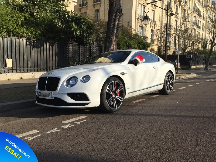 Essai Bentley Continental GT V8 S : Inoubliable ! - Photo n°12