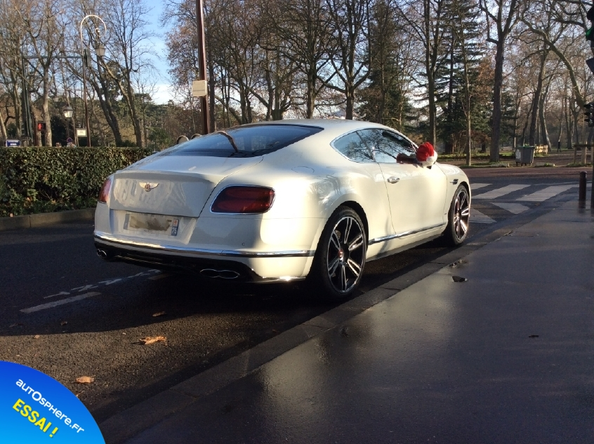 Essai Bentley Continental GT V8 S : Inoubliable ! - Photo n°3