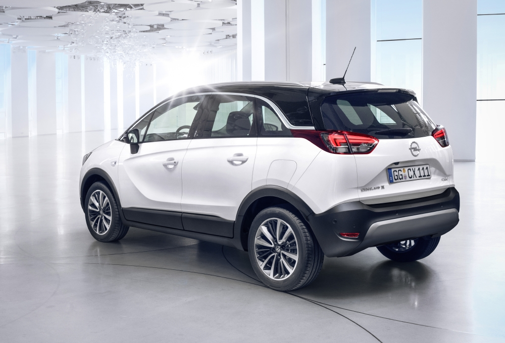 Opel lance son CUV, le Crossland X - Photo n°1