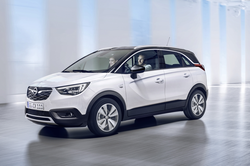 Opel lance son CUV, le Crossland X - Photo n°2