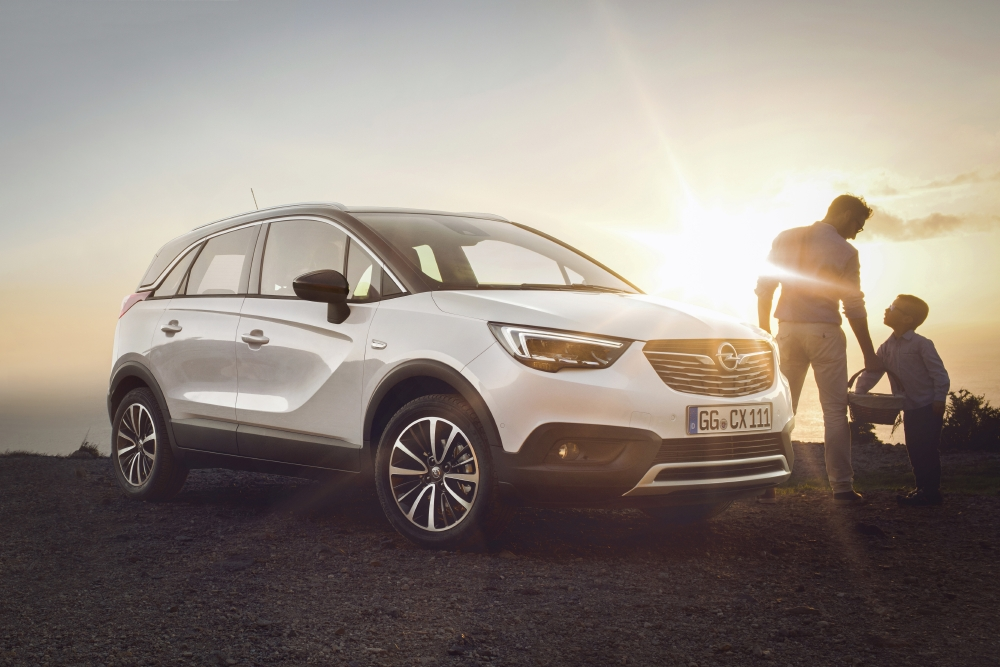 Opel lance son CUV, le Crossland X - Photo n°5
