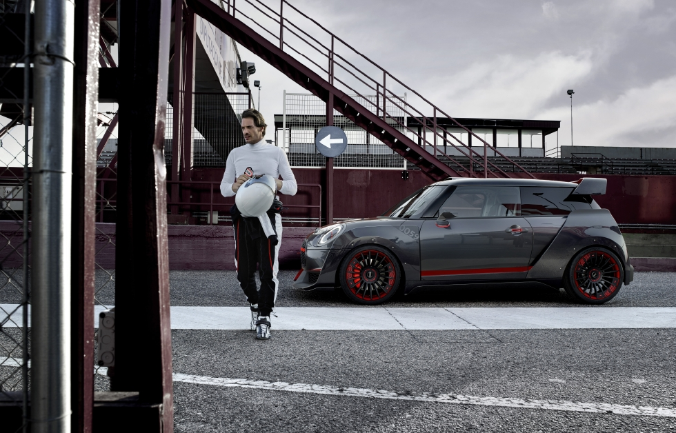 MINI JCW GP Concept : Effet wow ! - Photo n°1