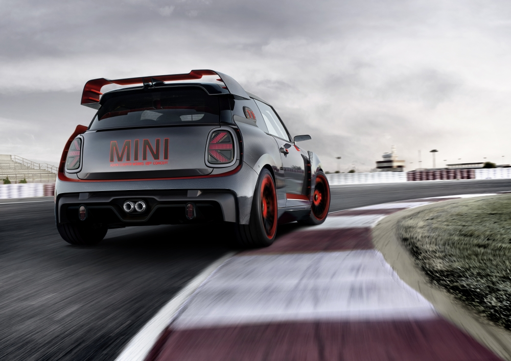 MINI JCW GP Concept : Effet wow ! - Photo n°2