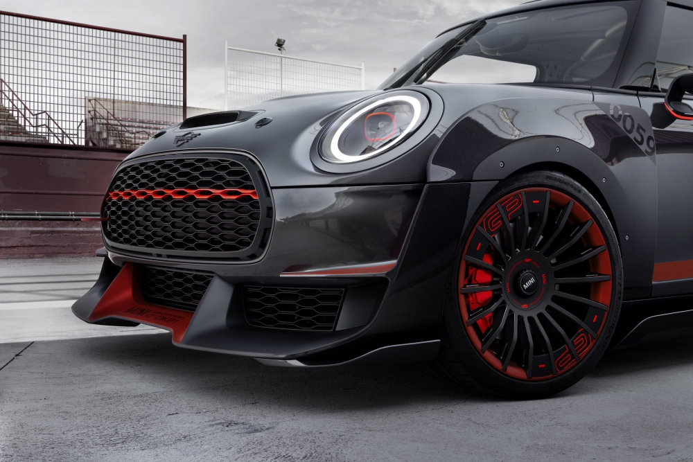 MINI JCW GP Concept : Effet wow ! - Photo n°4