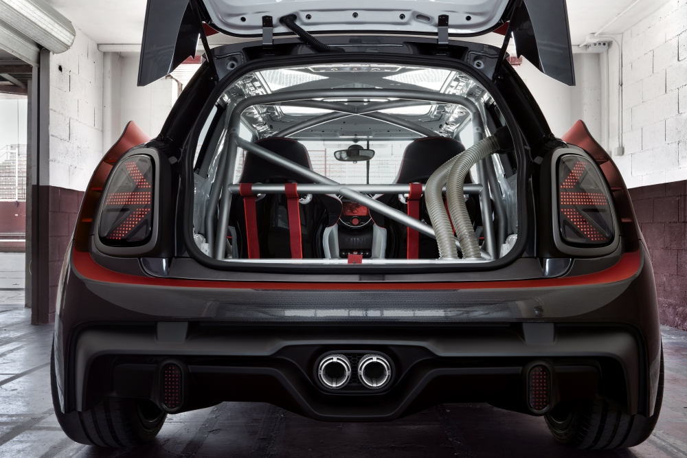 MINI JCW GP Concept : Effet wow ! - Photo n°7