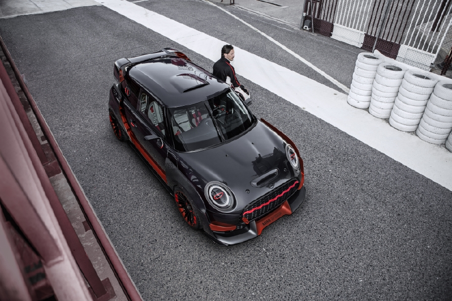 MINI JCW GP Concept : Effet wow ! - Photo n°9