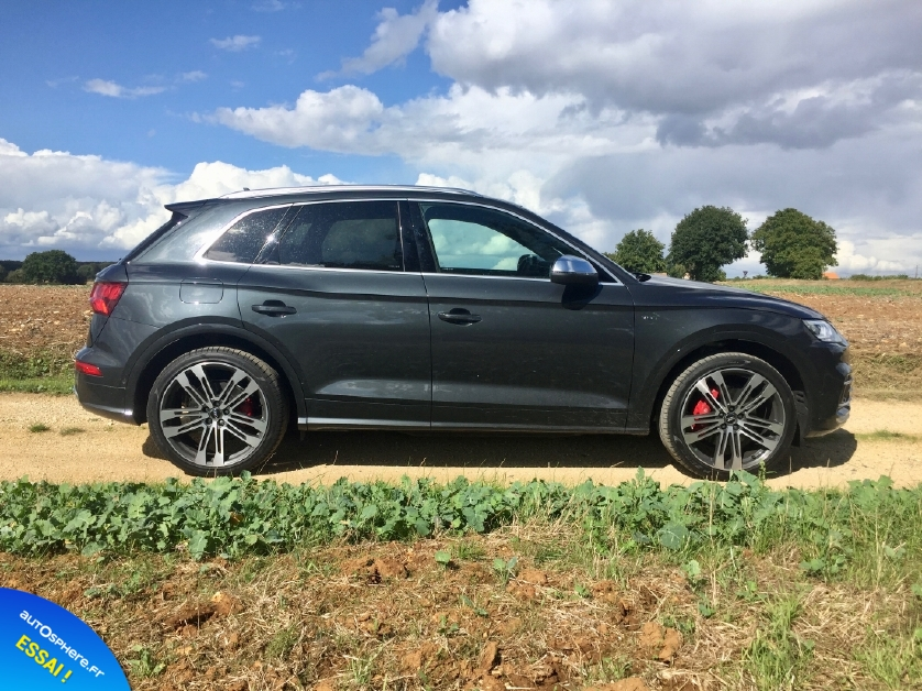 Essai Audi SQ5 : Bête de route ! - Photo n°3