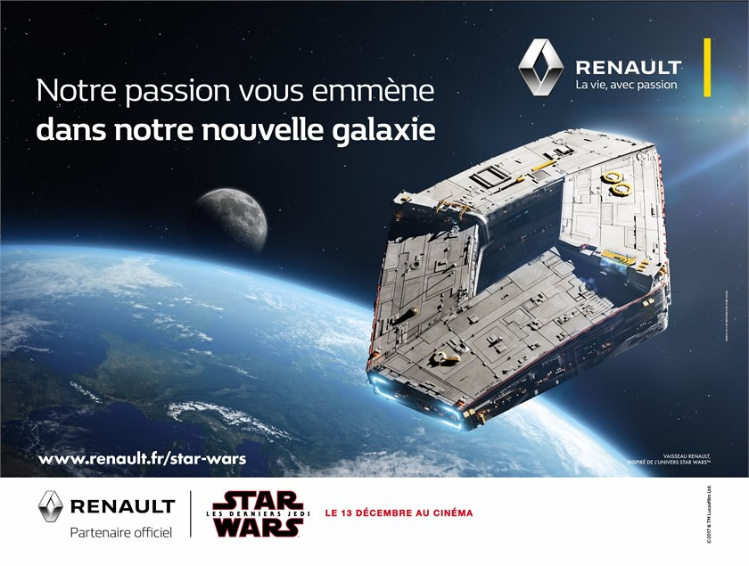 Renault s'habille en Star Wars - Photo n°1