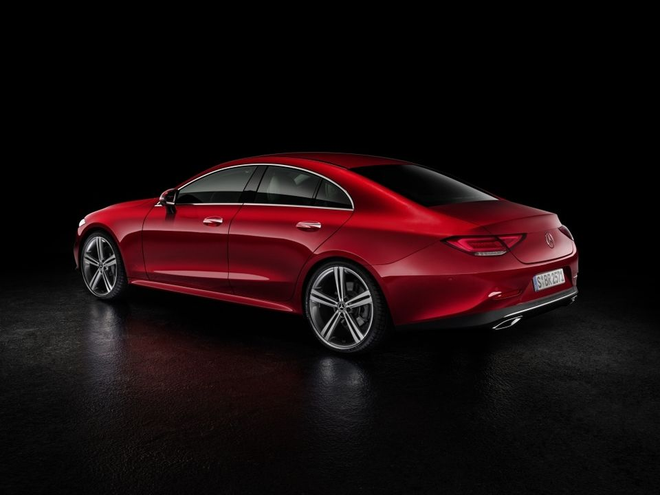 Voici la nouvelle Mercedes CLS - Photo n°1