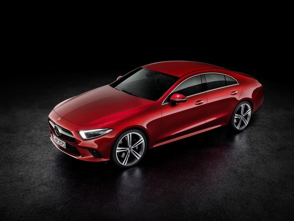 Voici la nouvelle Mercedes CLS - Photo n°2