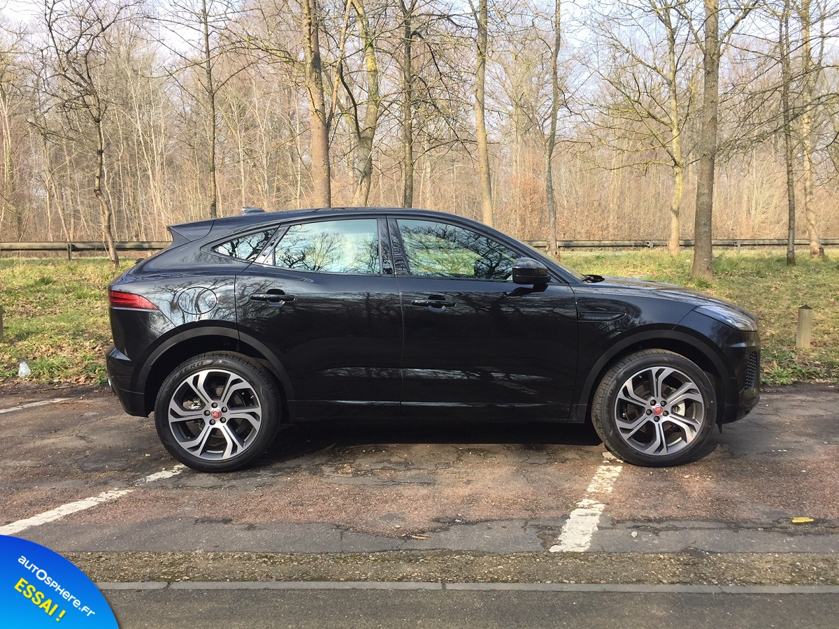 Essai Jaguar E-Pace : Succès garanti ? - Photo n°4