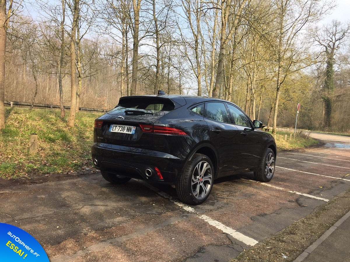 Essai Jaguar E-Pace : Succès garanti ? - Photo n°5