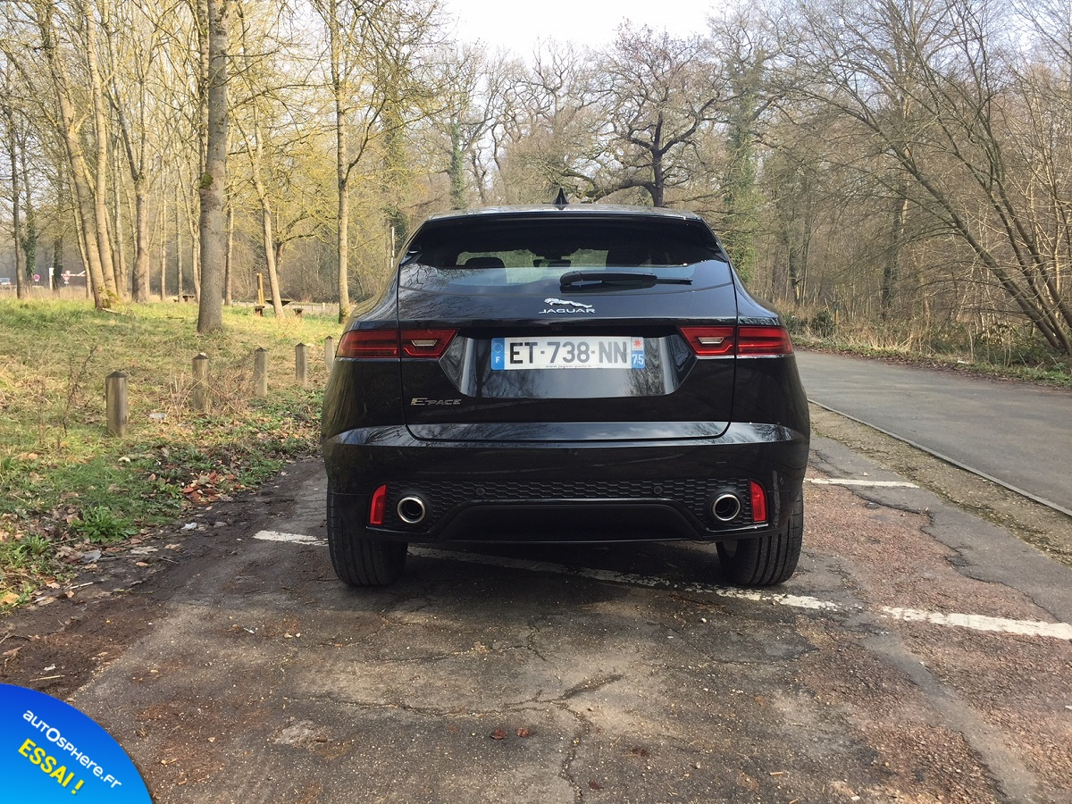 Essai Jaguar E-Pace : Succès garanti ? - Photo n°6
