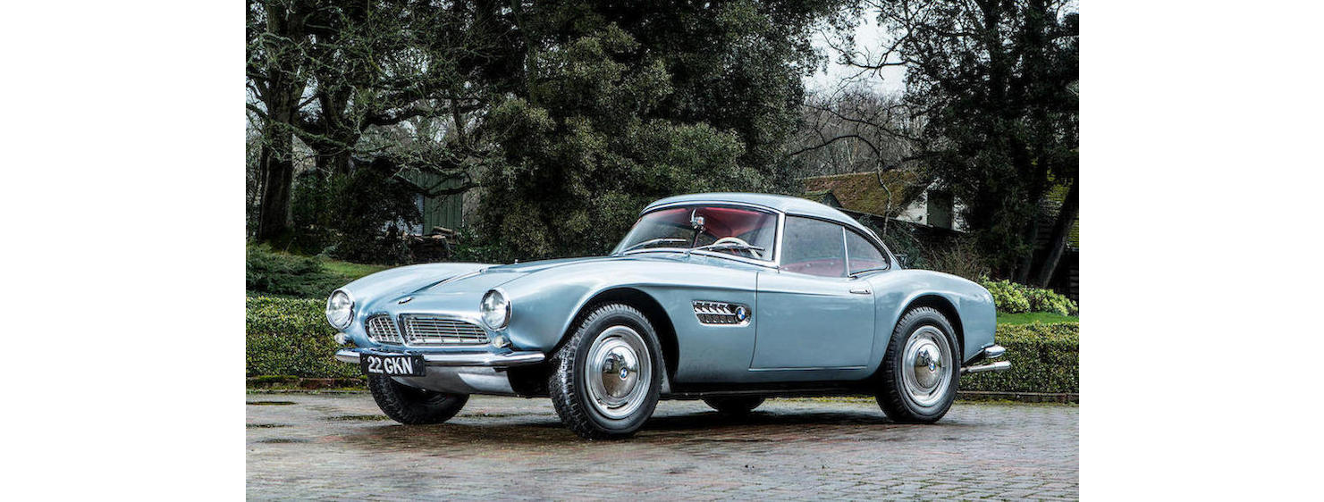 Aux enchères : La BMW 507 de John Surtees - Photo n°1