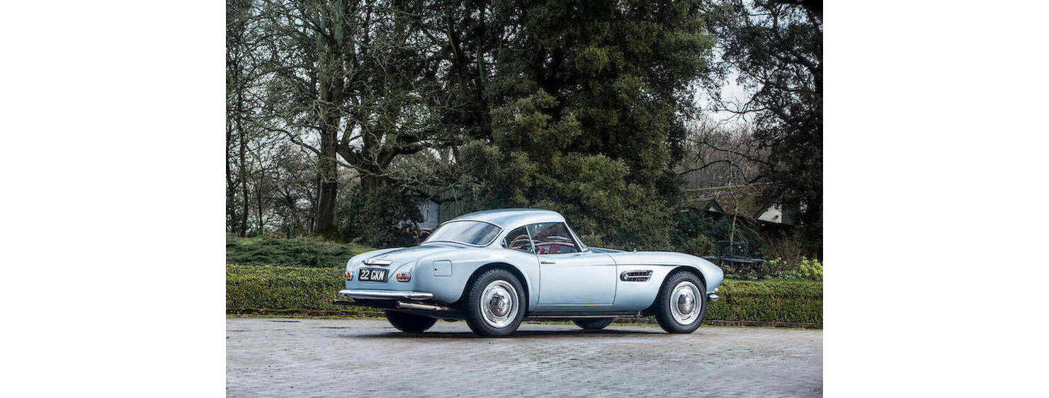 Aux enchères : La BMW 507 de John Surtees - Photo n°2