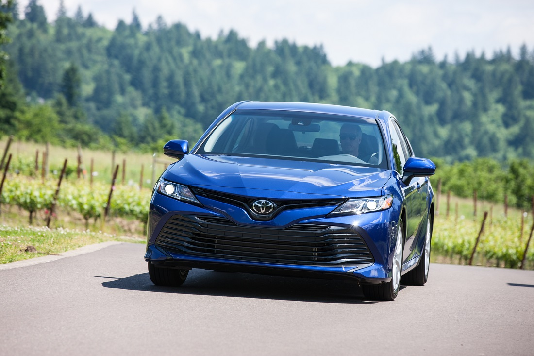La Toyota Camry revient en France - Photo n°1