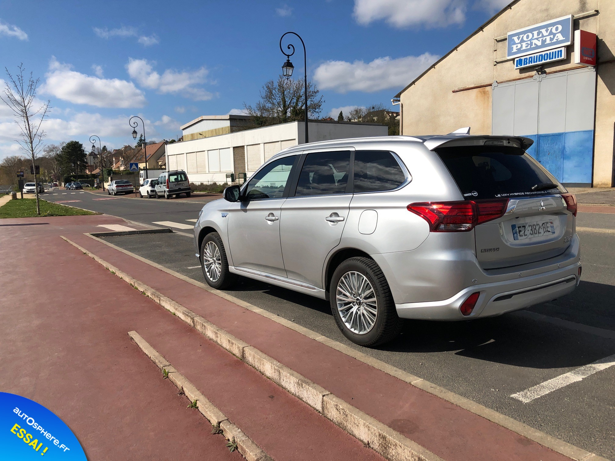 Essai Mitsubishi Outlander PHEV : Usage quotidien - Photo n°4