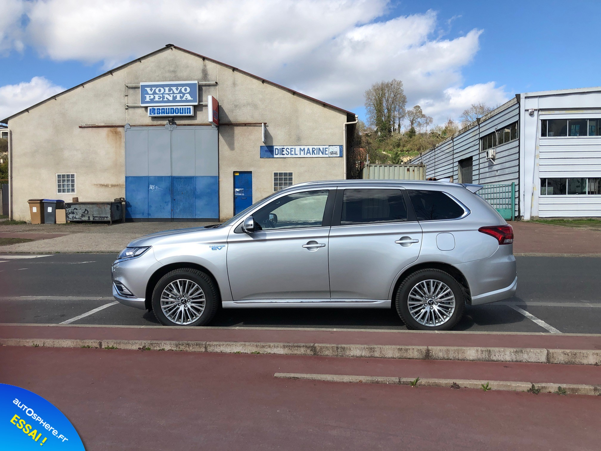 Essai Mitsubishi Outlander PHEV : Usage quotidien - Photo n°5