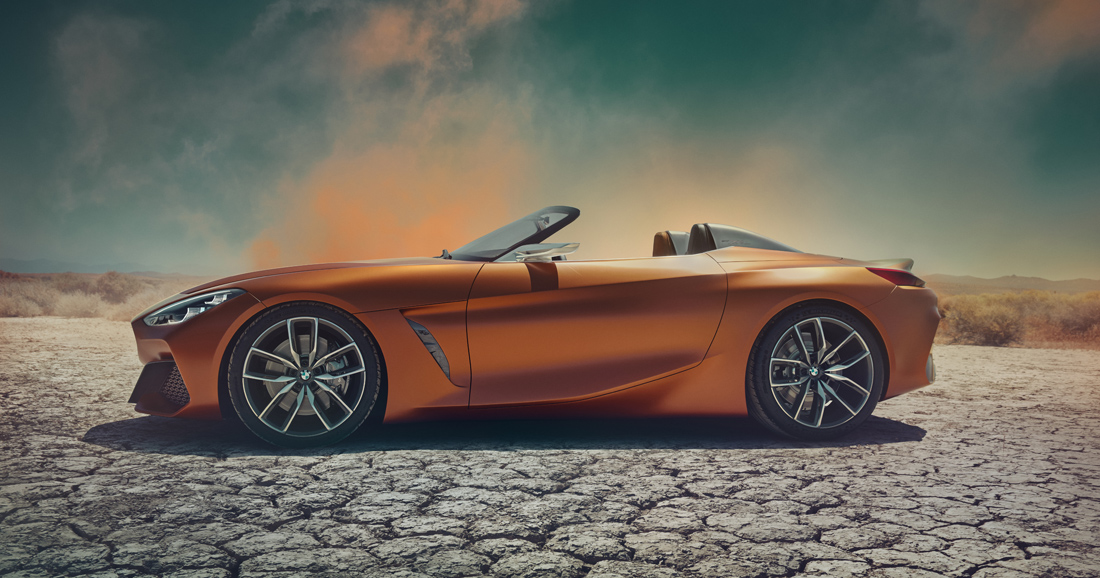 Le BMW Concept Z4 préfigure la nouvelle Z4 - Photo n°1