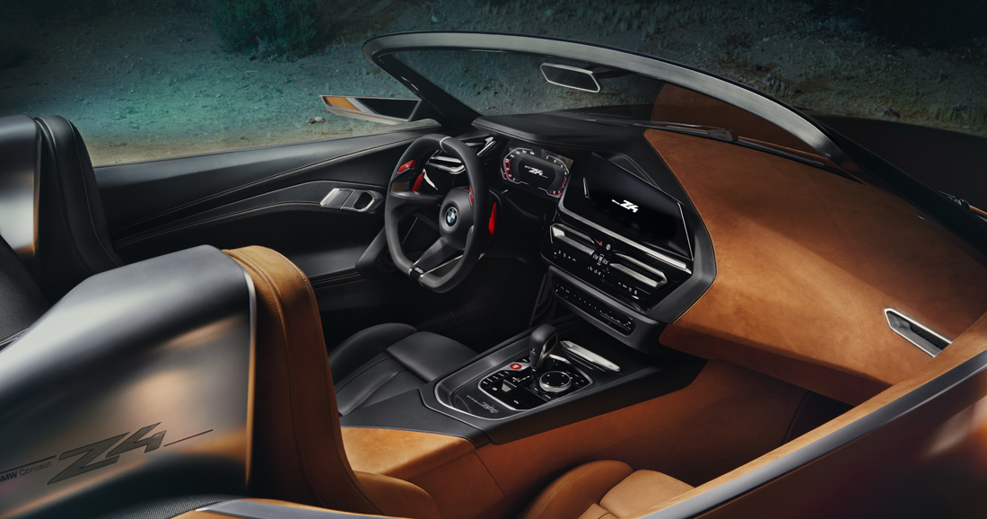 Le BMW Concept Z4 préfigure la nouvelle Z4 - Photo n°2