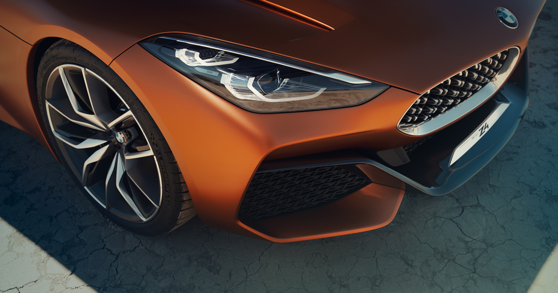Le BMW Concept Z4 préfigure la nouvelle Z4 - Photo n°4