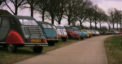 3 000 Citroën ce week-end à Middachten !