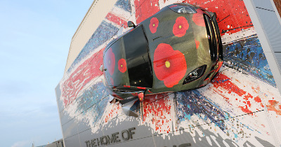 Jaguar s'associe au Remembrance Sunday