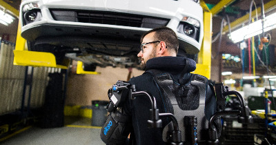 L'exosquelette, l'avenir de la production automobile
