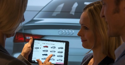 La concession digitale par Audi
