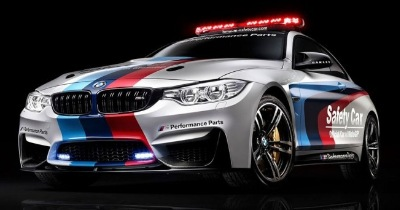 La nouvelle BMW M4 Safety Car du MotoGP