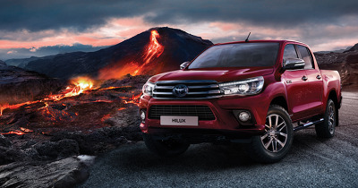 L'increvable Toyota Hilux.