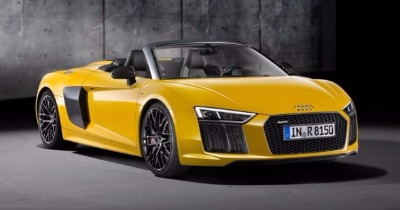 L'Audi R8 Spyder surprend New York