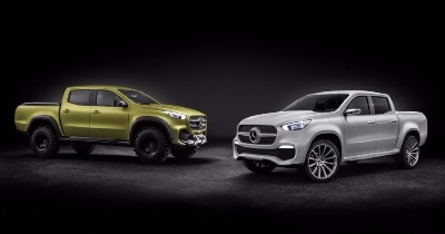 Mercedes X-Class, 2 pick-up en 1 !