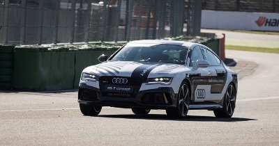 La RS7 Piloted Driving plus fiable que Audi Media TV