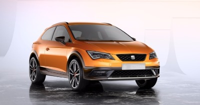 Le Seat Leon Cross Sport montre ses muscles.